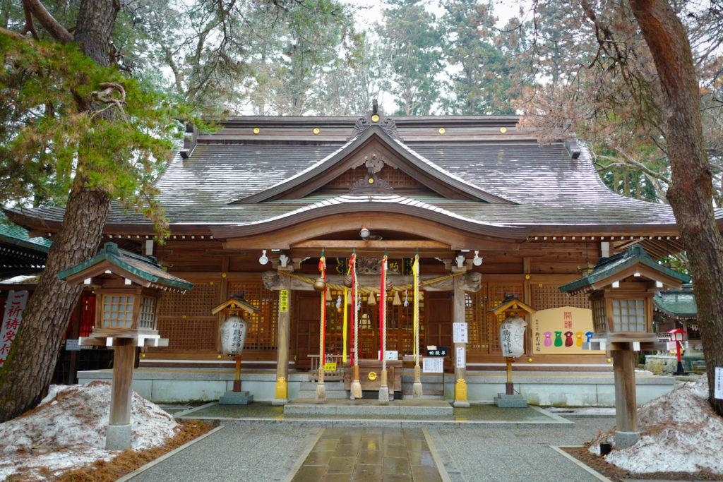 【岩手県】陸中国(りくちゅうのくに)一の宮 駒形(こまがた)神社