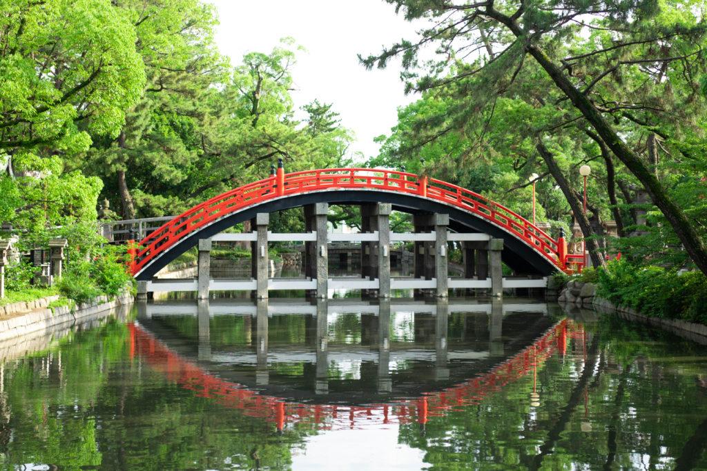 住吉大社、太鼓橋©2019 仰木一弘 wih LeicaQ