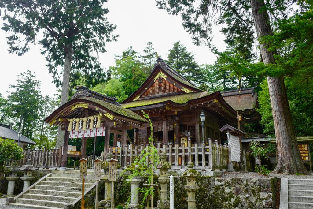 宇倍神社、拝殿©2019 仰木一弘 wih LeicaQ
