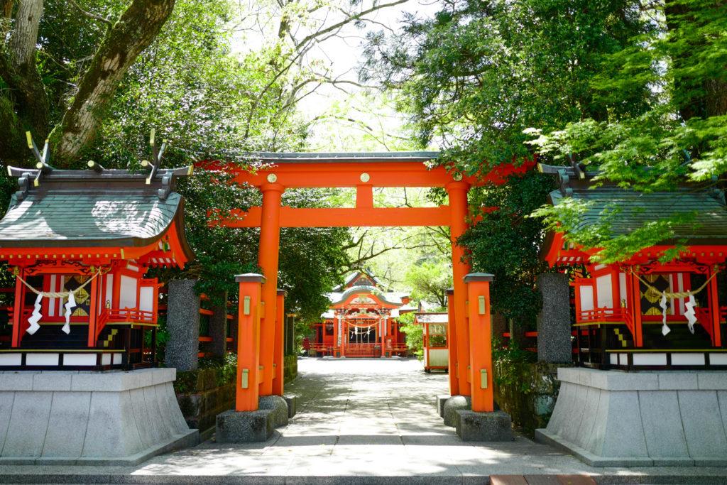 枚聞神社、鳥居©2019 仰木一弘 wih LeicaQ