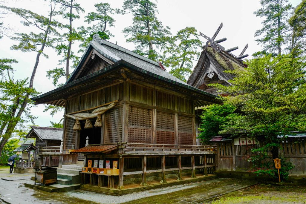 水若酢神社、拝殿©2019 仰木一弘 wih LeicaQ