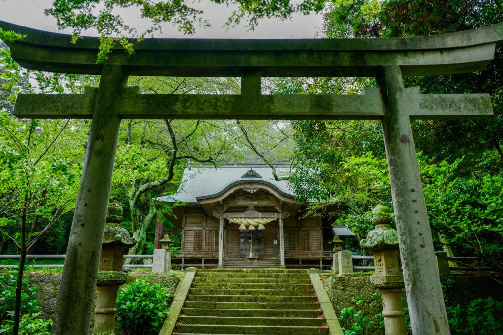由良比女神社、拝殿©2019 仰木一弘 wih LeicaQ