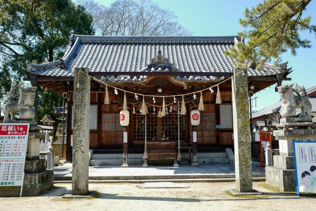 素盞嗚神社、拝殿 ©2019 仰木一弘 wih LeicaQ