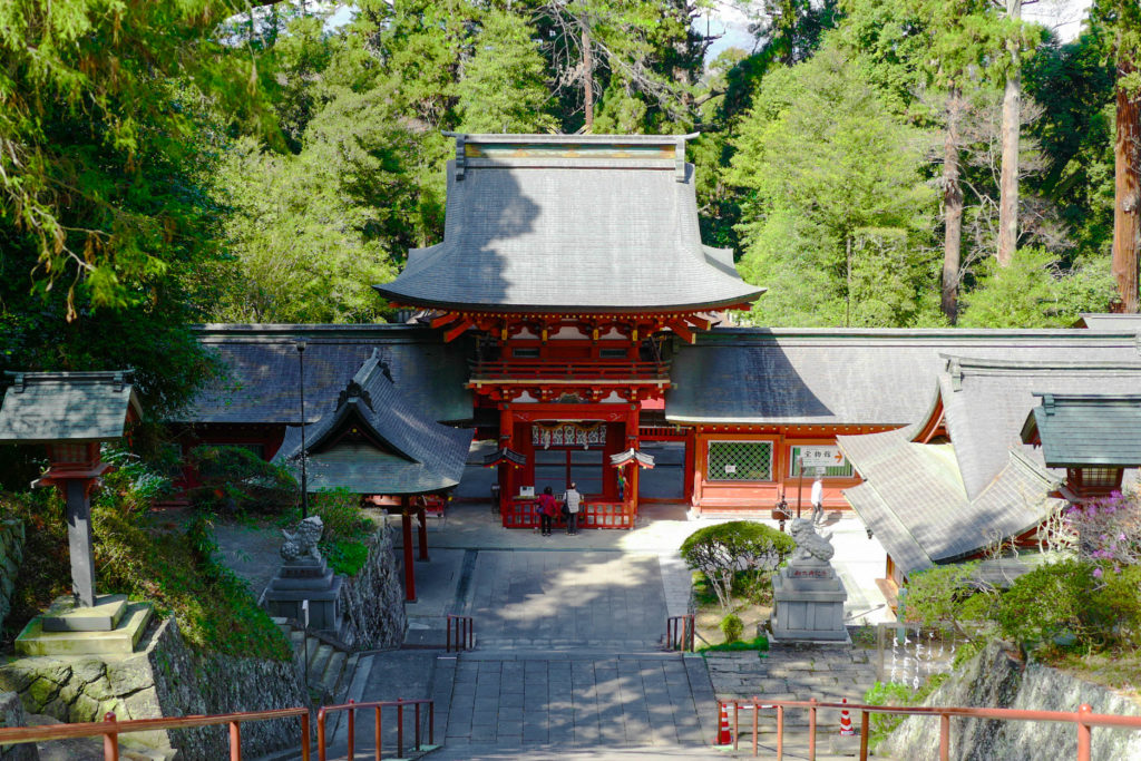 貫前神社、楼門©2019 仰木一弘 wih LeicaQ