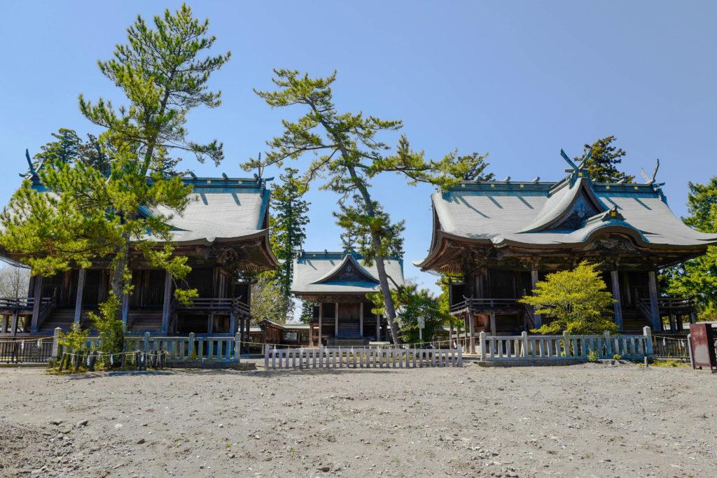 阿蘇神社、本殿©2019 仰木一弘 wih LeicaQ