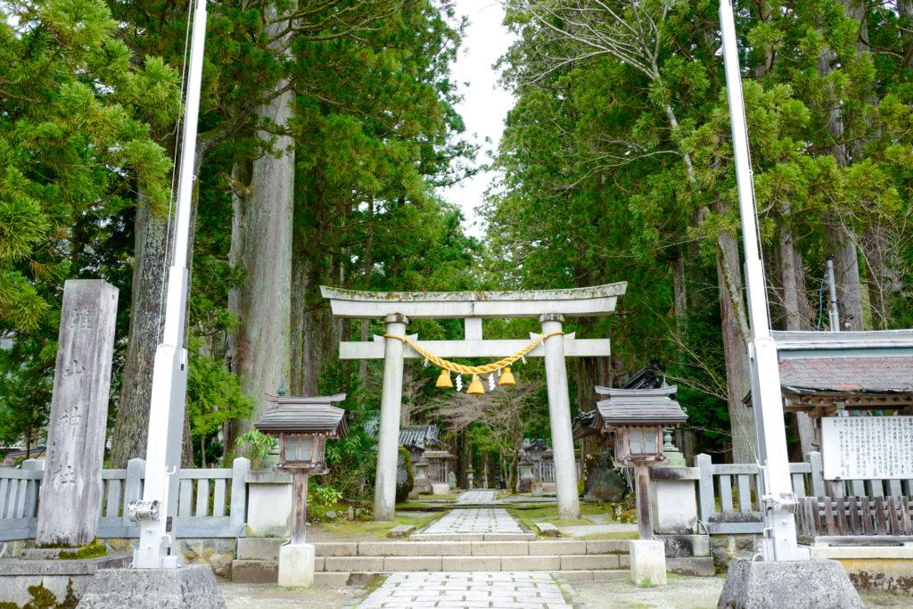 雄山 神社 立山